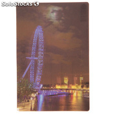 Cartolina 3D - Vista Notturna del London Eye