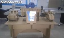 carton box mock up making machine