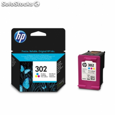 Cartucho color hp nº302 - 165 paginas aprox. - para deskjet