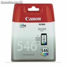 Cartucho de tinta color canon cli-546 9ml compatible con mg2450/mg2550