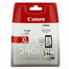 Cartucho de tinta color canon cli-546xl 13ml compatible con
