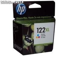 Cartucho de tinta hp 122xl color (ch564hl)