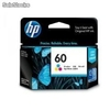 Cartucho de tinta hp 60xl color (cc644wl)