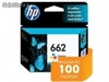 Cartucho de tinta ink advantage hp suprimentos CZ104AB hp 662 tricolor 2,0 ml