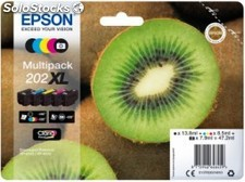 Cartucho epson C13T02G74020 multipack 5 colores 202XL claria bl