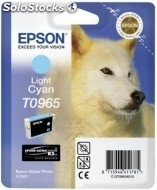 Cartucho epson tinta cian claro stylus photo R2880