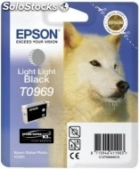 Cartucho epson tinta gris claro stylus photo R2880