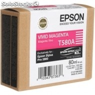 Cartucho epson tinta magenta vivo sp 3800 80 ml