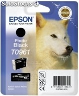 Cartucho epson tinta negra foto stylus photo R2880