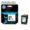 Cartucho HP color negro Nº 301 CH561EE