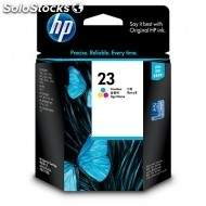 Cartucho hp tinta tricolor 23 xl