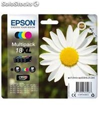 Cartucho inkjet pack 4 colores epson c13t18164012