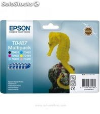 Cartucho inkjet pack 6 colores epson c13t04874010