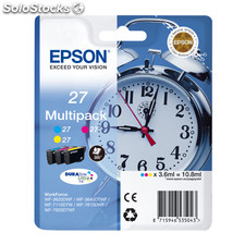 Cartucho multipack epson 27 10.8ML