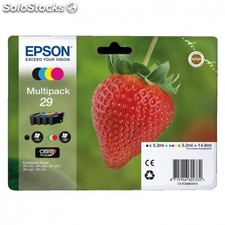 Cartucho multipack epson 29 claria home - 14.9ML - 4 colores (negro / amarillo /
