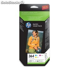 Cartucho orig hp nº 364 value pack c/y/m 4 colores PGK02-60200204