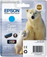 Cartucho original Epson T2632 cyan 26XL
