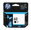 Cartucho original hp 62 negro