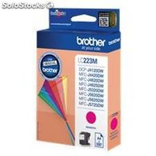 Cartucho tinta brother lc223mbp magenta 550 paginas dcp4120dw/ mfcj4420dw/