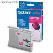 Cartucho tinta brother lc970m magenta 300 paginas dcp-135c/ dcp-150c/ mfc-235c/
