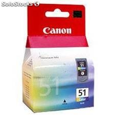 Cartucho tinta canon cl 51 tricolor 21ml 2200/ 6210/ 6220/ mp150/ 170/ 450