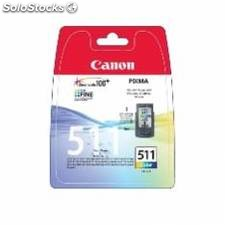 Cartucho tinta canon cl 511 tricolor 9ml mp240/ 250/ 260/ 270 mp 480/ 490 mx