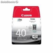 Cartucho tinta canon pg 40 negro 16ml pixma 1600/ 2200/ 2600/ mp150/ 170/ 190/