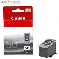 Cartucho tinta canon pg 50 negro 22ml pixma 2200/ mp150/ 170/ 450