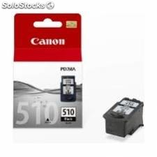 Cartucho tinta canon pg 510 negro 9ml ip 2700/ 2702/ mp 250/ 260/ 270/ 480/ 490/