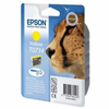 Cartucho tinta epson 5,5 ml amarillo t0714 - guepardo