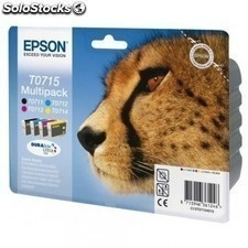 Cartucho tinta EPSON multipack -t0715 color guepardo 23.9ml