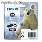 Cartucho tinta epson T263140 photo negro xl xp-600/605/700/800