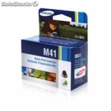 Cartucho tinta samsung ink m41 negro 17ml sf-370/ 371p/ 375tp