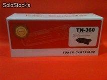 Cartucho, Toner , compatible tn 360 para Brother 2140 2150n 2170w
