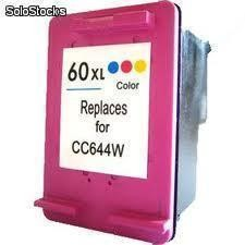 Cartucho Vacío hp 60 xl cc643w Color, virgen $60.00