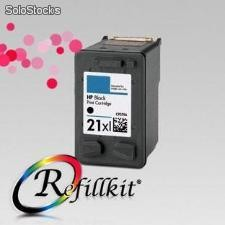 Cartuchos Alternativos InkJet HP 21XL Negro C9351CL / C9351AL Doble carga