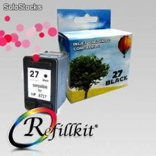 Cartuchos Alternativos InkJet HP 27 Cartucho Negro compatible C8727AL