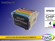 Cartuchos Recargables Alternativos - Epson t25 / tx125 / tx123