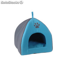 Casa acolchada para animales azul - pet house - DM5000510