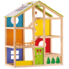 Casa de muñecas sin mueble Hape All Season House E3400