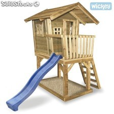 Casa para jugar Wickey Fun House Casitas Infantiles
