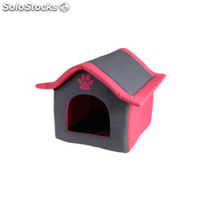 Casa para mascotas acolchada rosa - pets collection - 8711295171031 - DM5000500