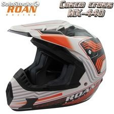 Casco cross adulto roan pro