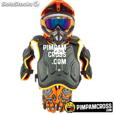 Casco cross niño