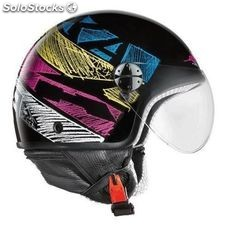 casco de moto axo subway ky talla xl