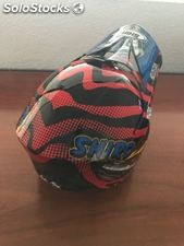 Casco de moto cross MX-306R Emaco
