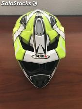Casco de moto cross Shiro F/W Emaco