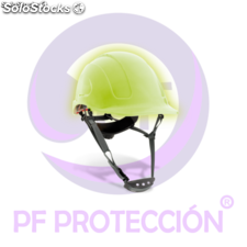 Casco de proteccion fotoluminiscente