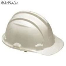 Casco de seguridad certificado, blanco plus