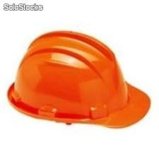 Casco de seguridad certificado plus naranjo